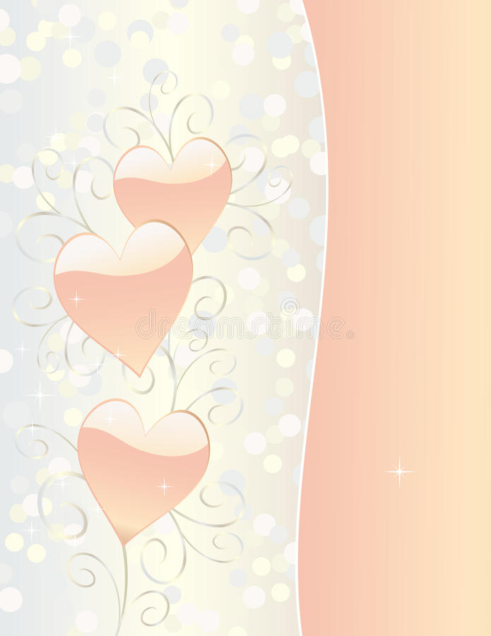 Download Valentines Day Or Wedding Card Stock Image - Image: 12365861