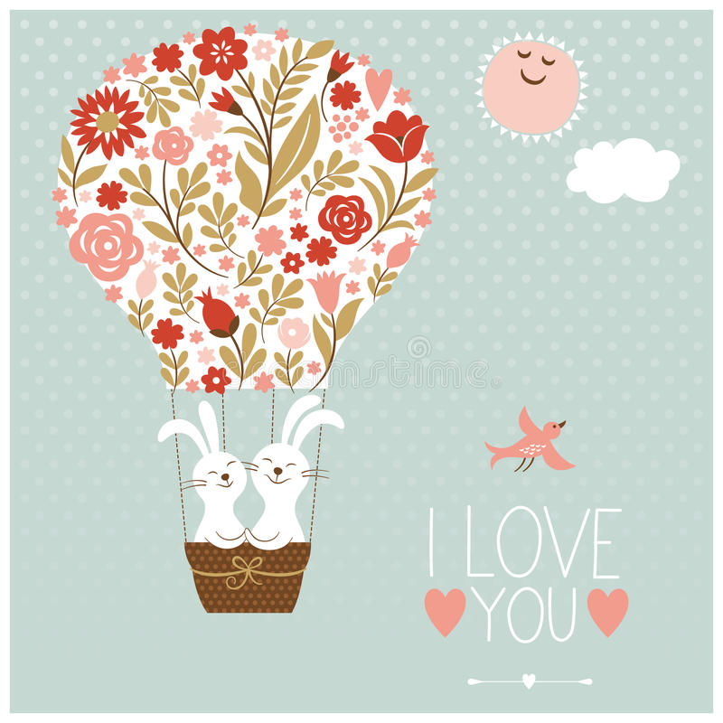 Download Valentines Day Or Wedding Card Stock Vector - Image: 37283261