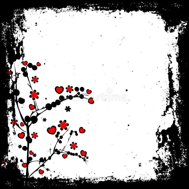 Valentines grunge stock illustration