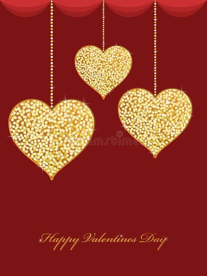 Valentines hearts vector illustration
