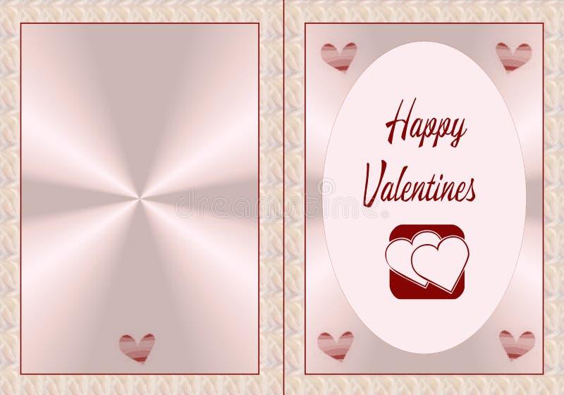 valentines heureux illustration libre de droits