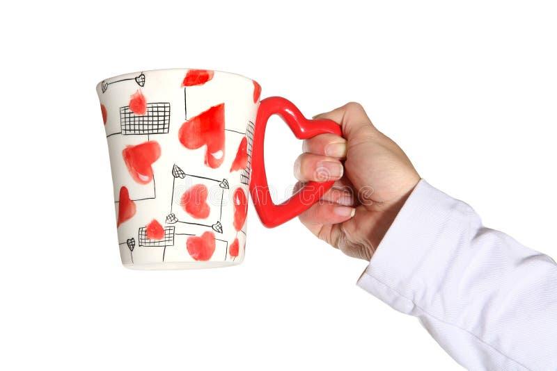 Valentines Mug royalty free stock photo