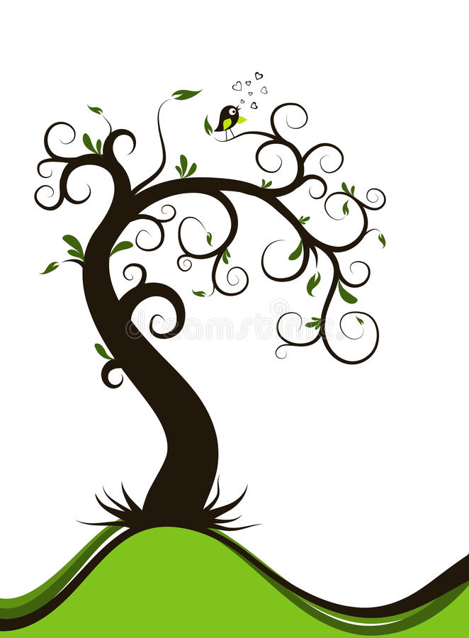 Download Valentines tree background stock vector. Illustration of artwork - 22758610