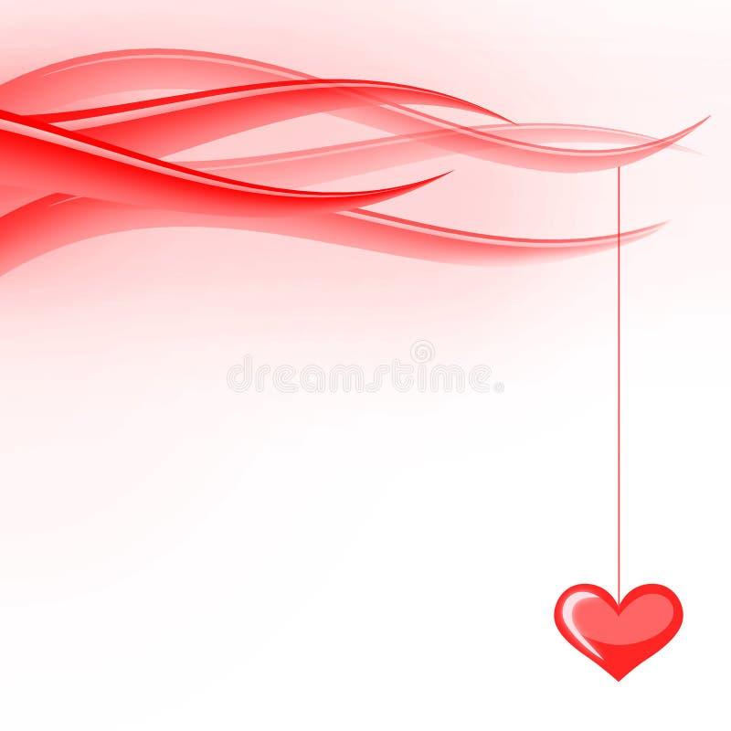 Valentines waves stock photo