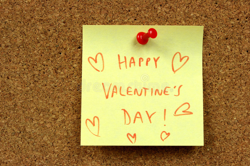 Download Valentines wishes stock photo. Image of pinned, valentine - 6437330