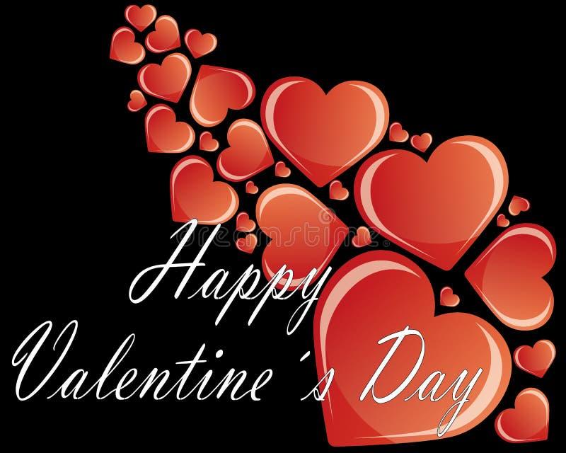 Valentinförälskelser stock illustrationer