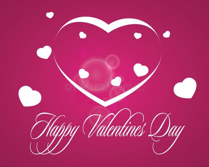 Valentinförälskelser royaltyfri illustrationer