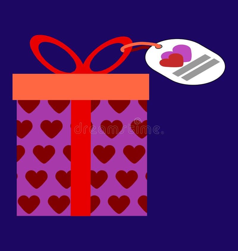 Valentingåvaask arkivfoton