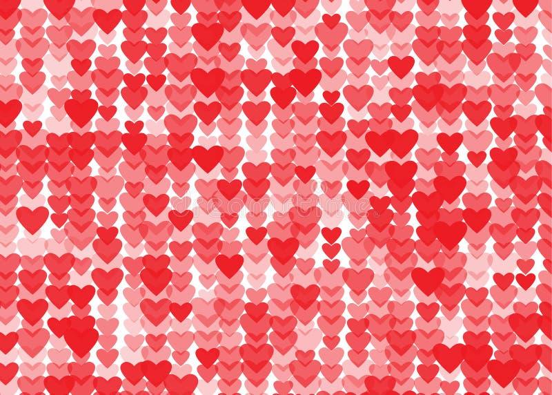 Valentinhjärta vektor illustrationer
