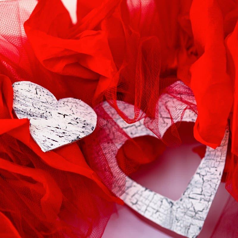 Valentinhjärtor royaltyfria foton