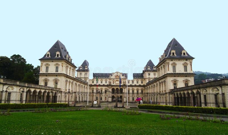 Valentino Castle, Turin, Itália imagens de stock