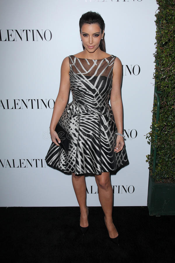 Download Valentino,Kim Kardashian editorial image. Image of flagship - 25257970