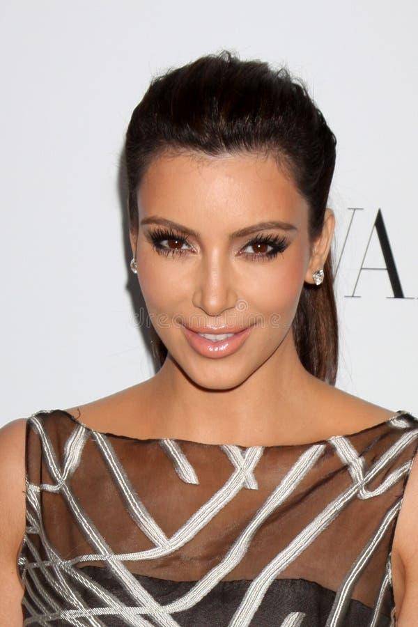 Valentino, Kim Kardashian fotografia de stock royalty free