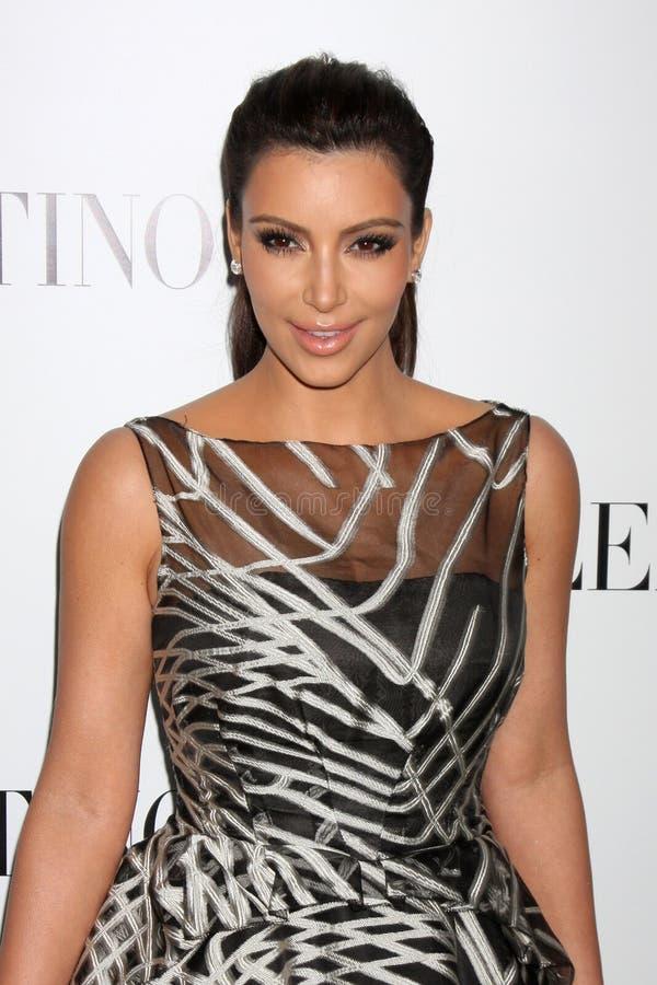 Valentino, Kim Kardashian imagens de stock royalty free