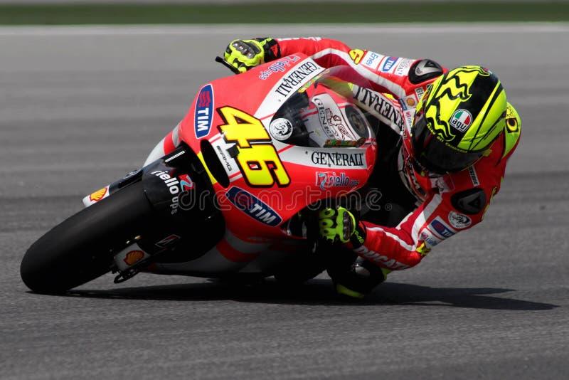 Valentino Rossi imagem de stock