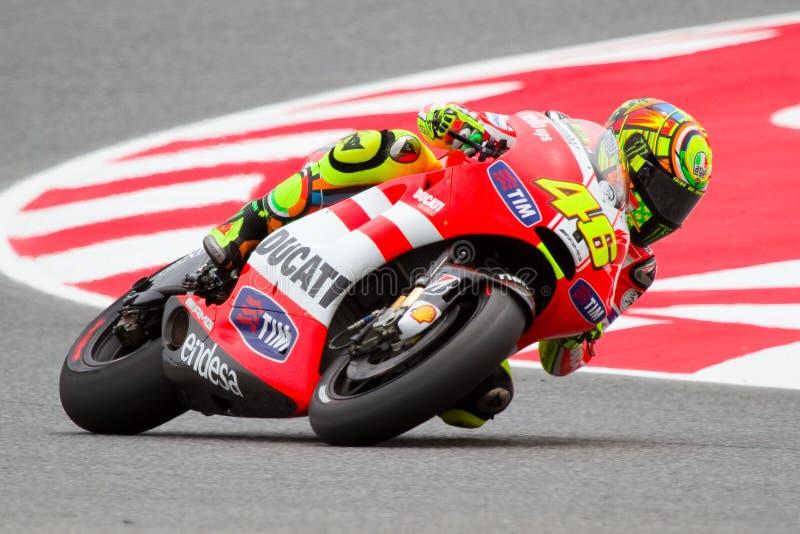 Valentino Rossi imagens de stock