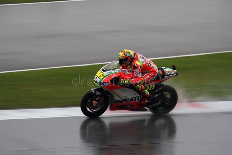 Valentino Rossi stockbild