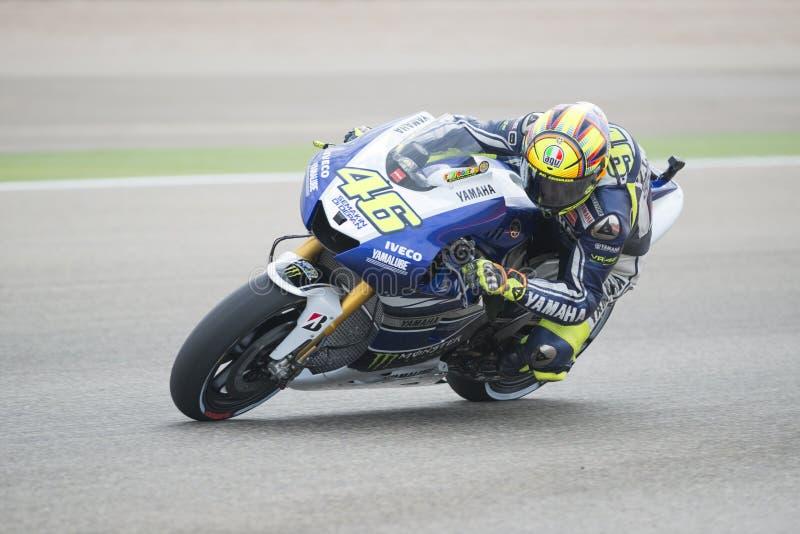 Valentino Rossi foto de stock royalty free