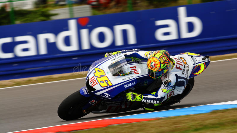 Valentino Rossi - 46 - Tal stockfoto