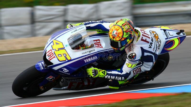 Valentino Rossi - 46 - vale fotos de stock royalty free