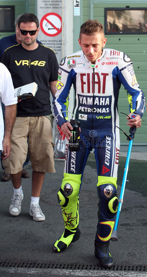 Download Valentino Rossi Tested In Brno Editorial Stock Photo - Image: 15119483