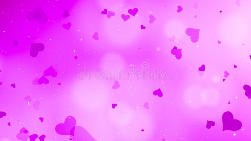 Valentinsgruß bokeh Hintergrund stockfoto