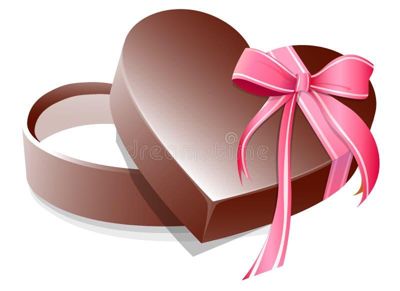 Valentinsgruß-Geschenk vektor abbildung