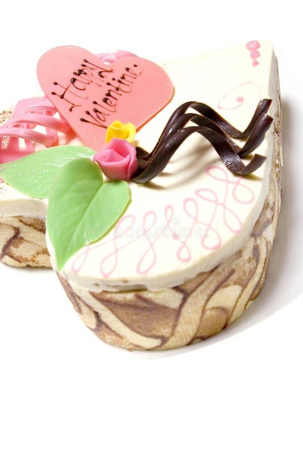 Valentinsgruß-Nachtisch lizenzfreie stockbilder