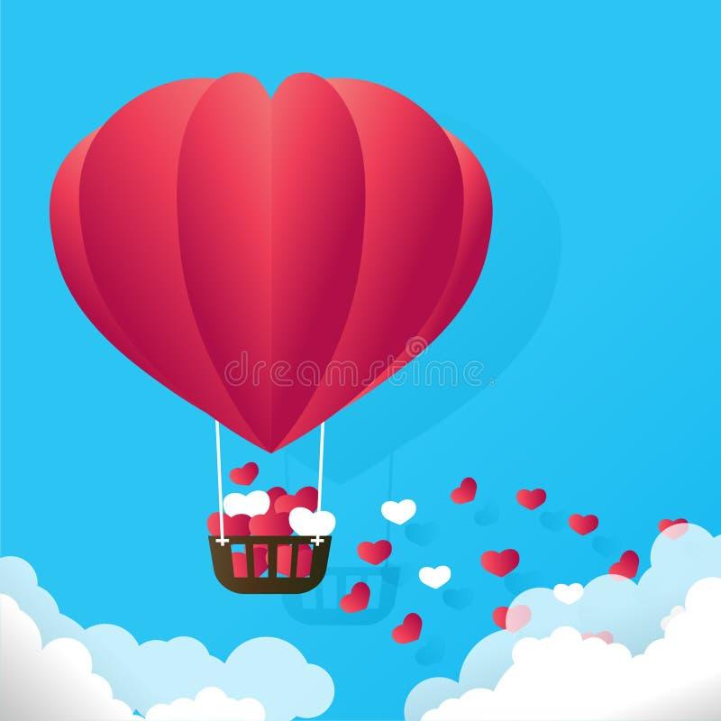Valentinsgruß RGB stock abbildung
