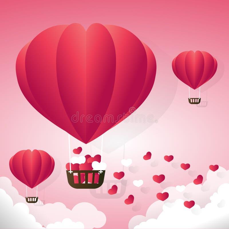 Valentinsgruß RGB lizenzfreie abbildung