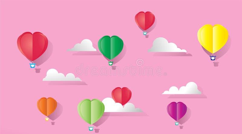 Valentinsgruß RGB vektor abbildung