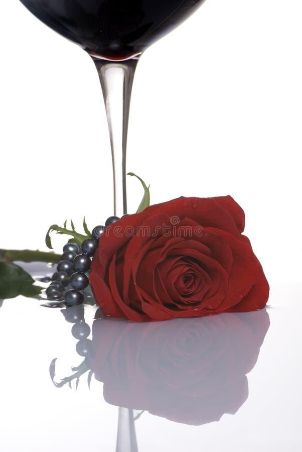 Valentinsgruß Rose 5 lizenzfreies stockbild