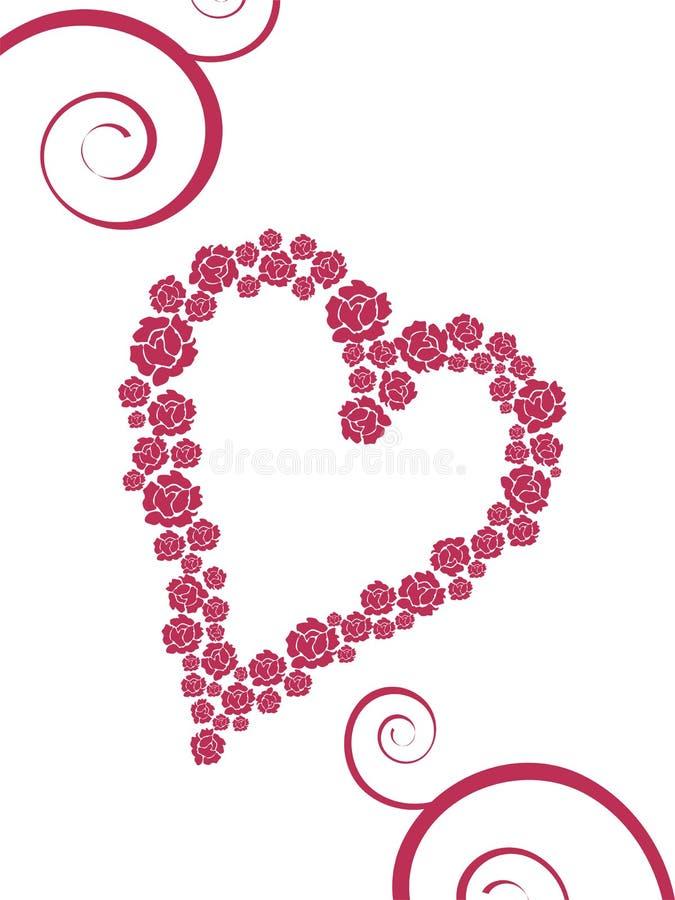 Valentinsgruß `s Gruß vektor abbildung