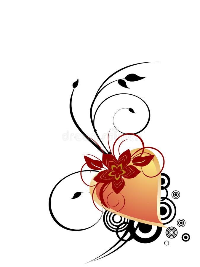 Valentinsgruß `s Inneres vektor abbildung