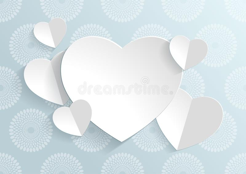 Valentinsgruß `s Tag lizenzfreie abbildung