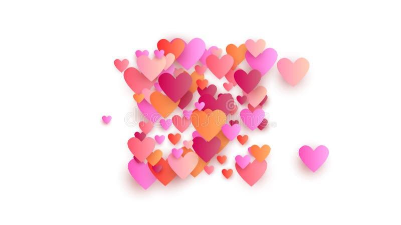 Valentinsgruß ` s Tagesfeiertags-Hintergrund Illustration für Ihre Valentinsgruß ` s Tagesfeiertage entwerfen vektor abbildung