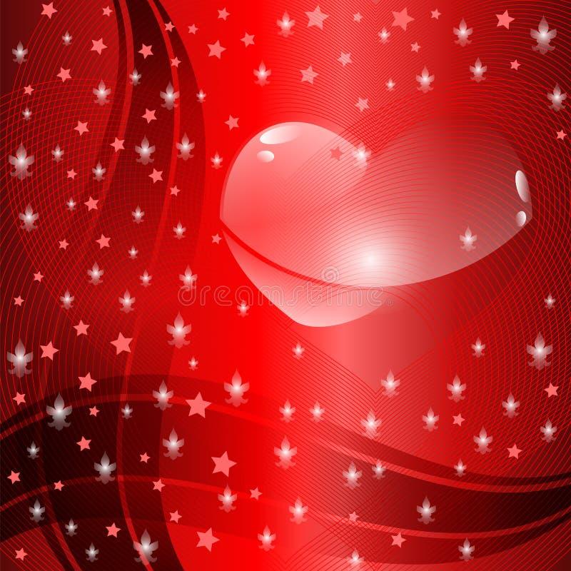 Valentinsgruß ` s Tageshintergrund lizenzfreie stockbilder