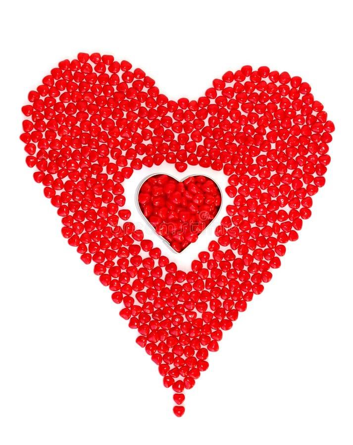 Valentinsgruß-Tagesinneres stockfotografie