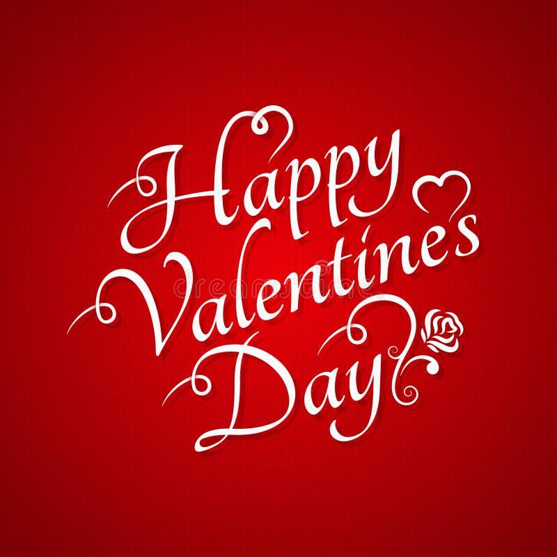 Valentinsgruß-Tagesweinlese-Zeichen-Hintergrund lizenzfreie abbildung