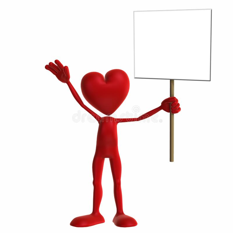 Valentinsgruß - Zeichen Stockfotos