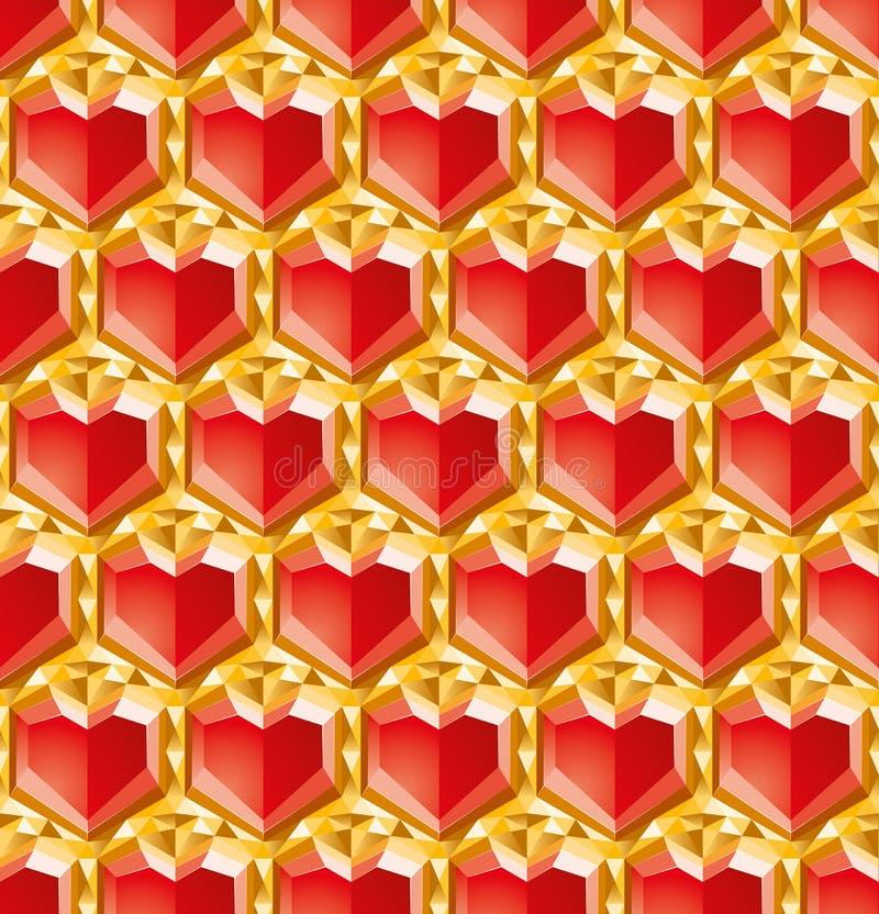 Valentinsgrußdiamanten Lizenzfreie Stockfotos