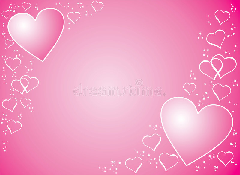 Valentinsgrußhintergrund, Vektor vektor abbildung