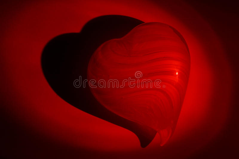 Valentinsgrußleuchte stockbilder