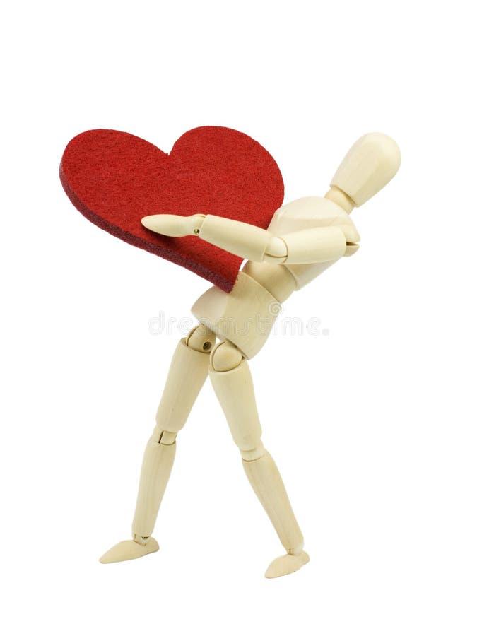 Valentinsgrußliebe stockfotos
