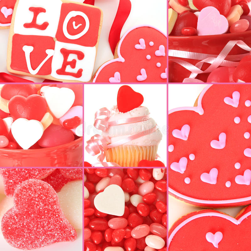 Valentinsgrußsüßigkeit lizenzfreie stockfotografie