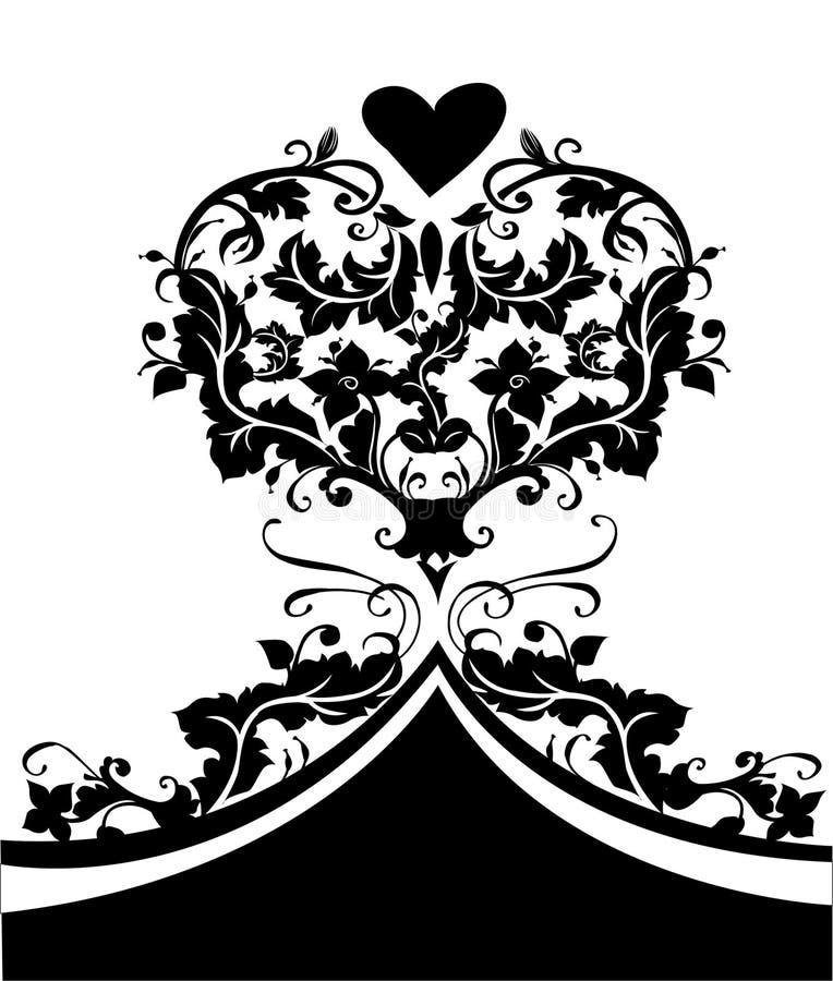 Valentinsgrußtagesauslegung stock abbildung