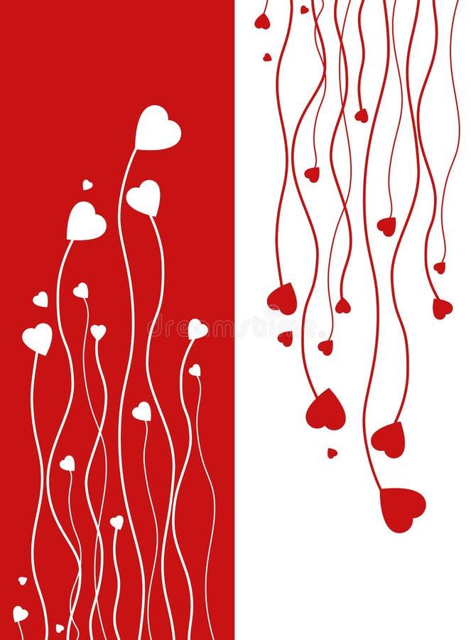 Valentinstag lizenzfreie abbildung