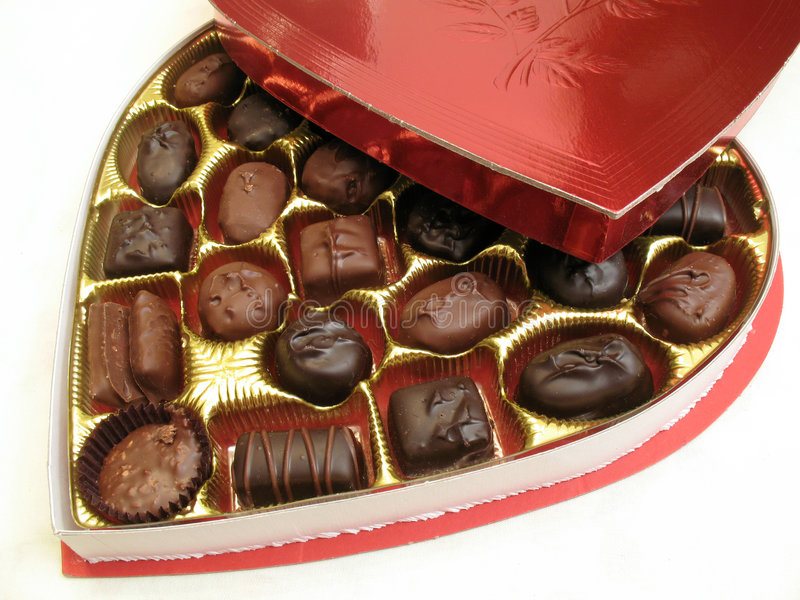 Valentinstag-Festlichkeit stockfoto