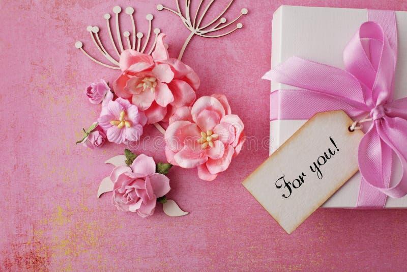Valentinstag-Karte lizenzfreies stockbild