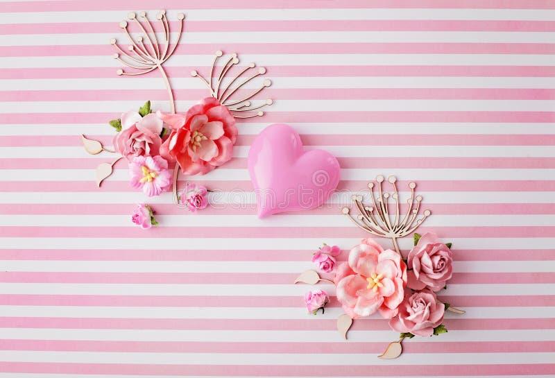 Valentinstag-Karte lizenzfreie stockfotografie